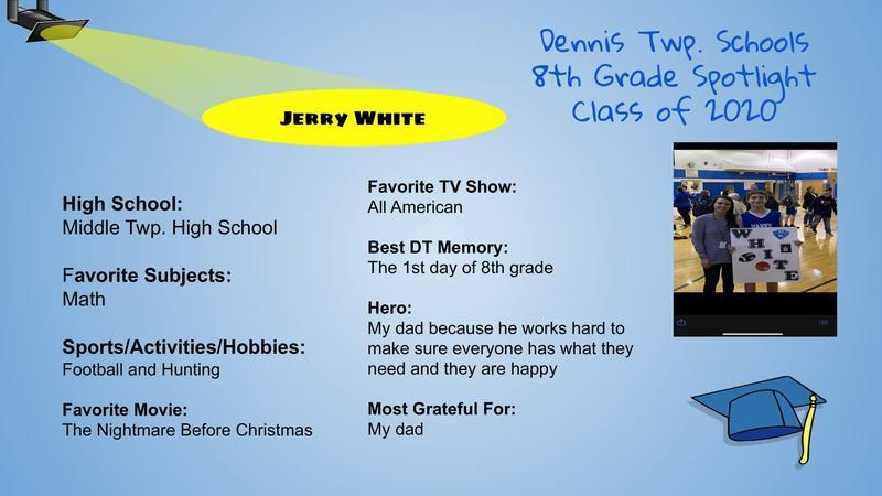 DT 8th Grade Spotlight Thumbnail Image