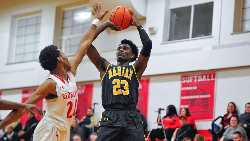 Block party: Chris White delivers a double-double to power Marian Catholic past Marist Featured Photo
