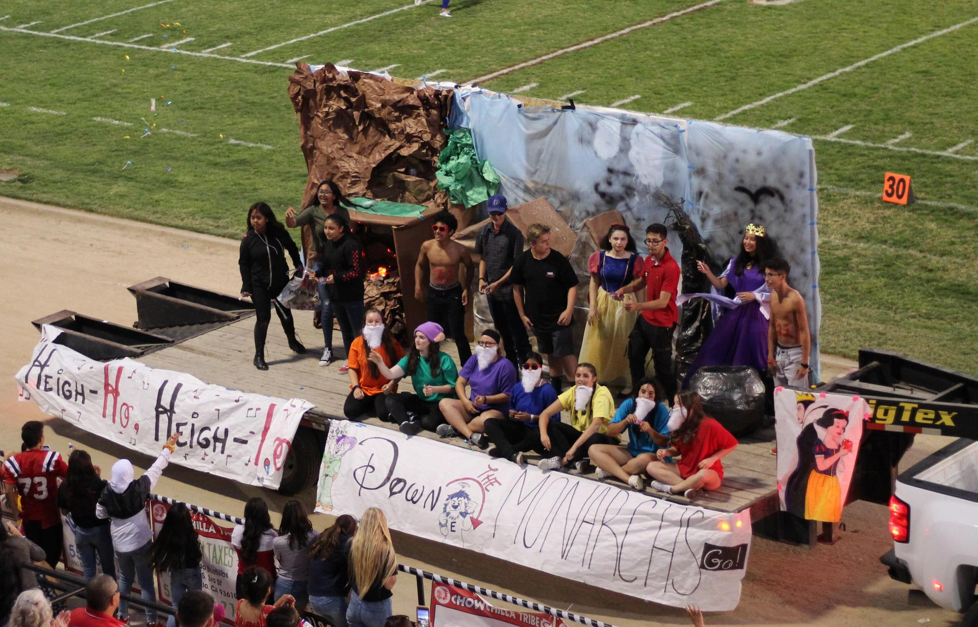 Homecoming Floats
