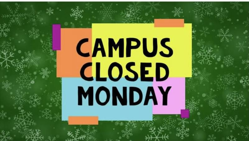 campus closed