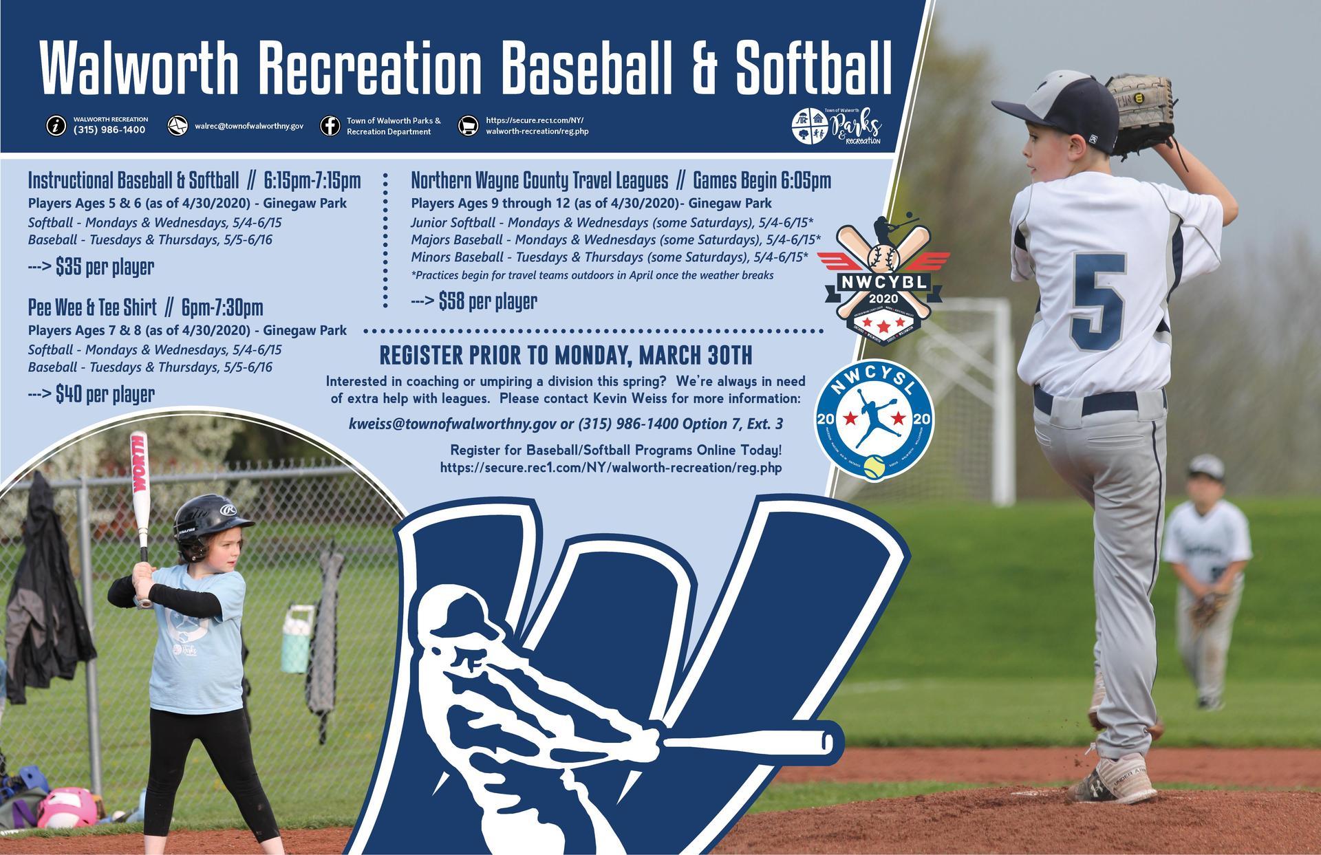 Walworth Rec Baseball