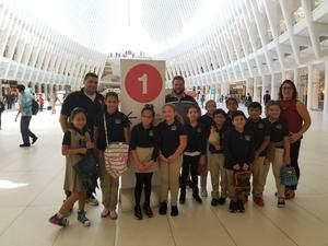 4TH Grade Students study architecture at the WTC