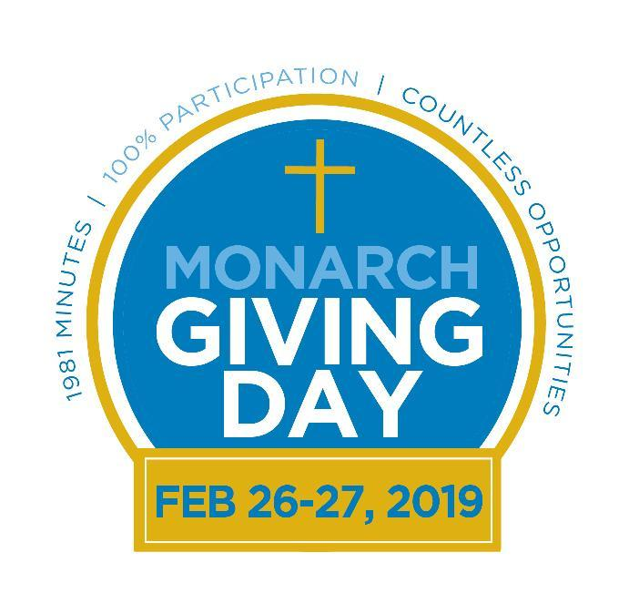 Support Monarch Giving Day on Tuesday, Feb 26! Featured Photo