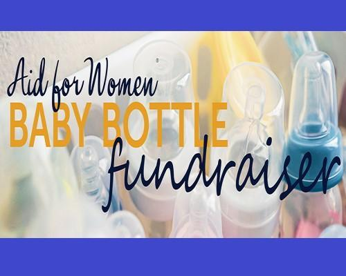 Aid for Women Baby Bottle Fundraiser Featured Photo