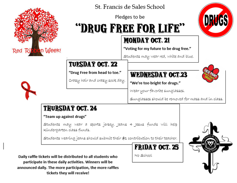 Red Ribbon Week Itinerary Featured Photo