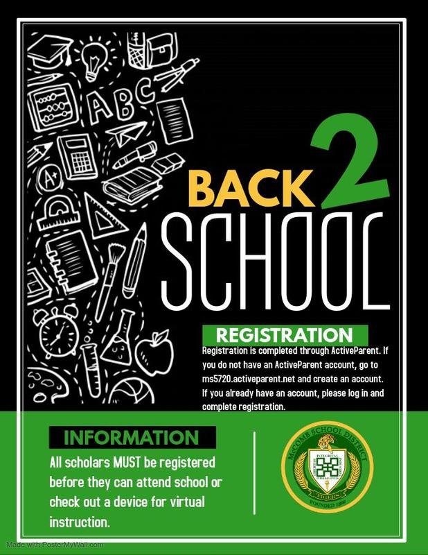 McComb School District Registration News 2020-2021  #ItsComeBackTime