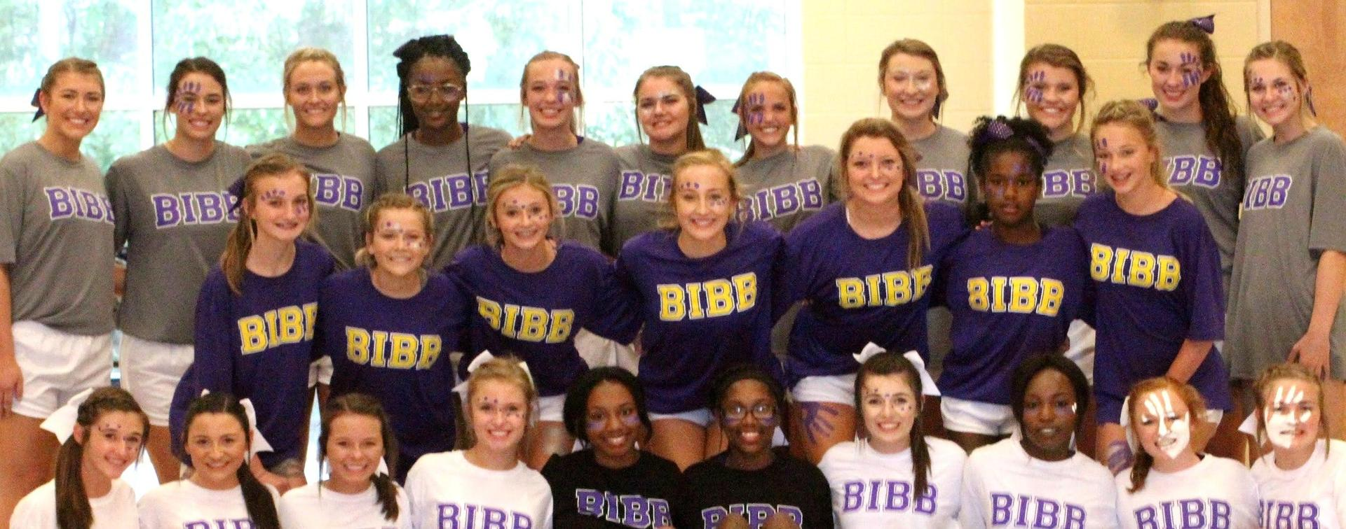 BCHS 2018 Cheerleaders