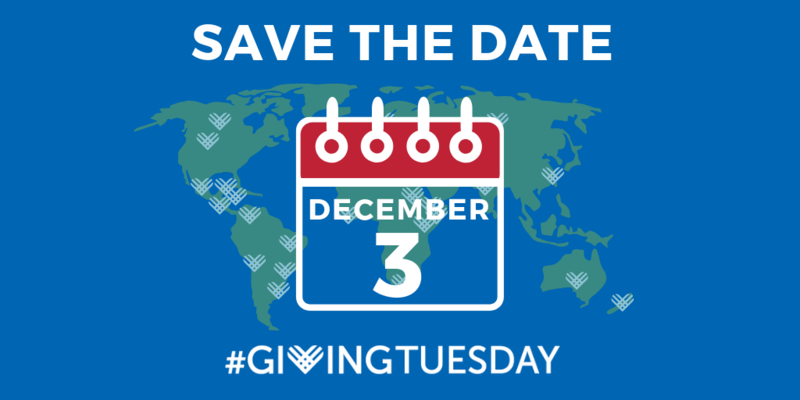 Giving Tuesday December 3 Featured Photo