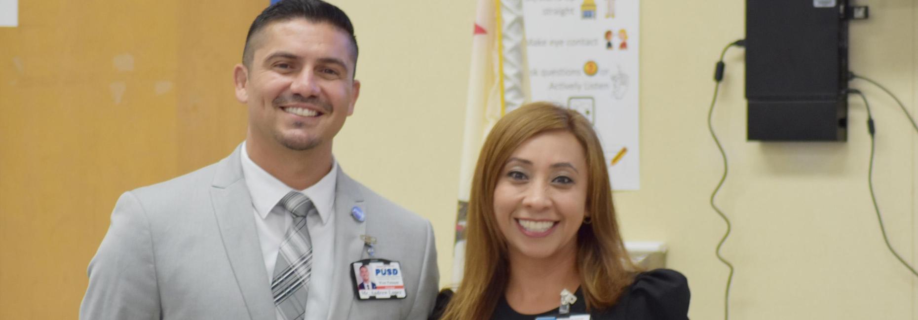 Mr. Lopez and Mrs. Ortiz