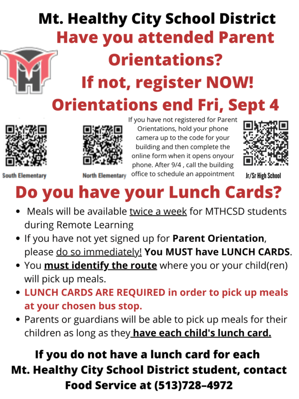 flyer for orientation