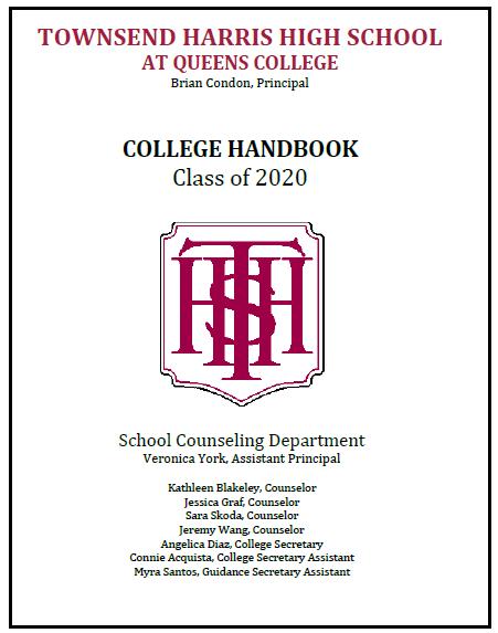 2019-20 College Handbook