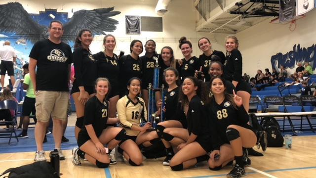 Girls Varsity Volleyball Wins Cal City Tournament Featured Photo