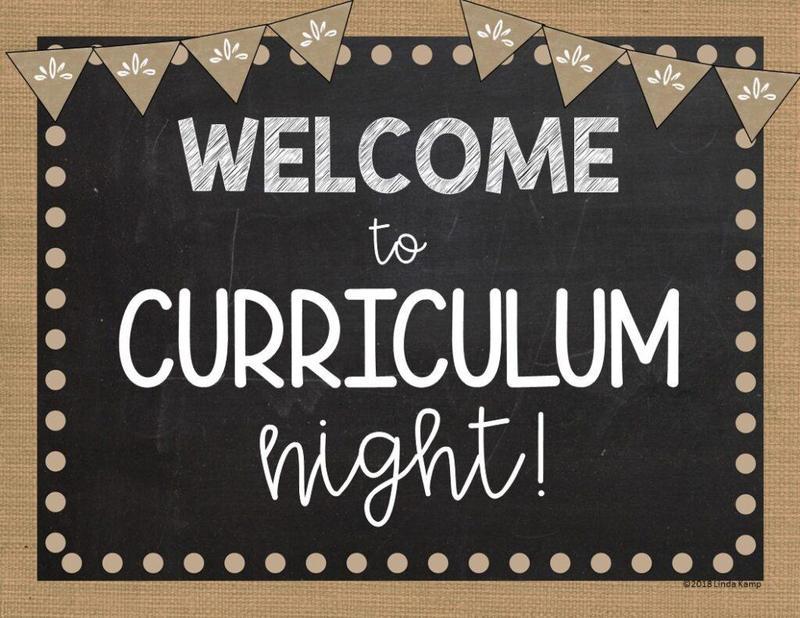 Curriculum Night Recordings Featured Photo