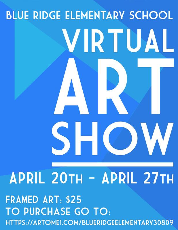 Virtual Art Show April 20-April 27