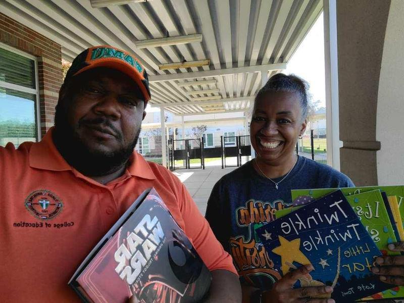 FAMU College of Education SFEA Donates Books to FAMU DRS Families Featured Photo