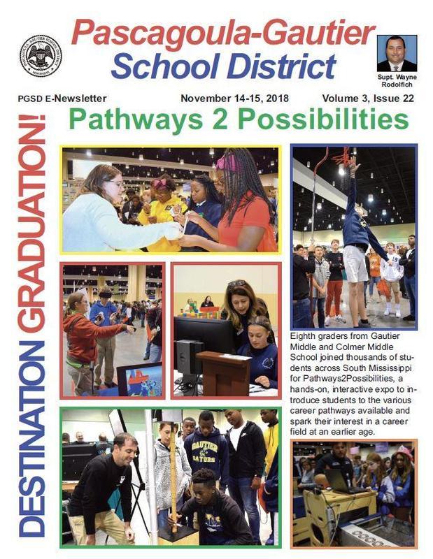 PGSD E-Newsletter Volume 3, Issue 22