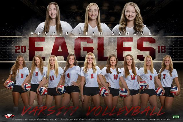 2018 Lady Eagle Volleyball