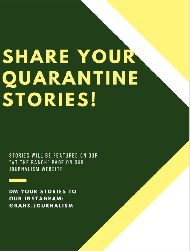 Share Your Quarantine Story in the School Newspaper! Featured Photo