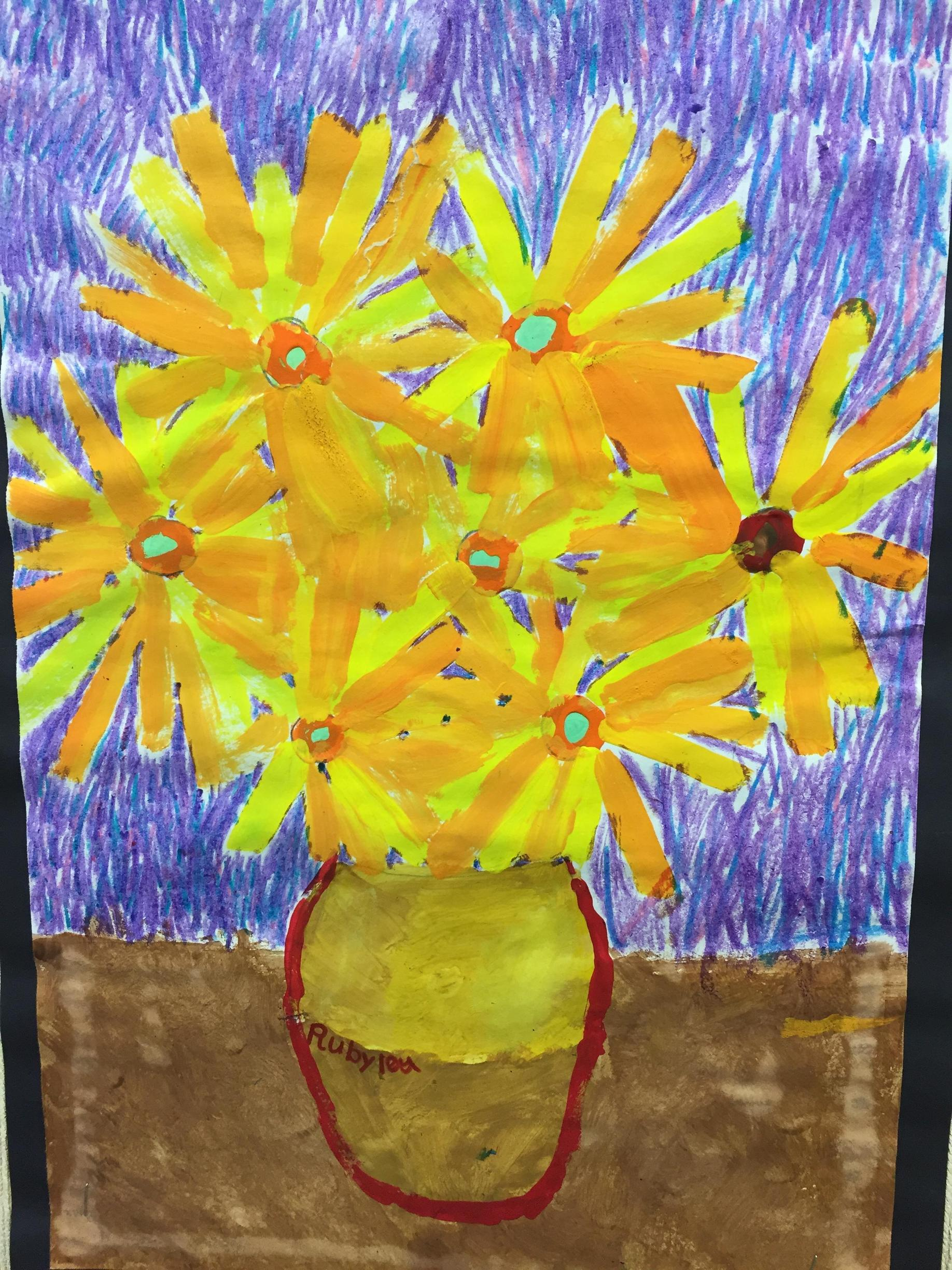 art work by second grader