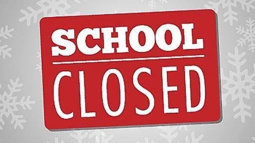School Closure Sign
