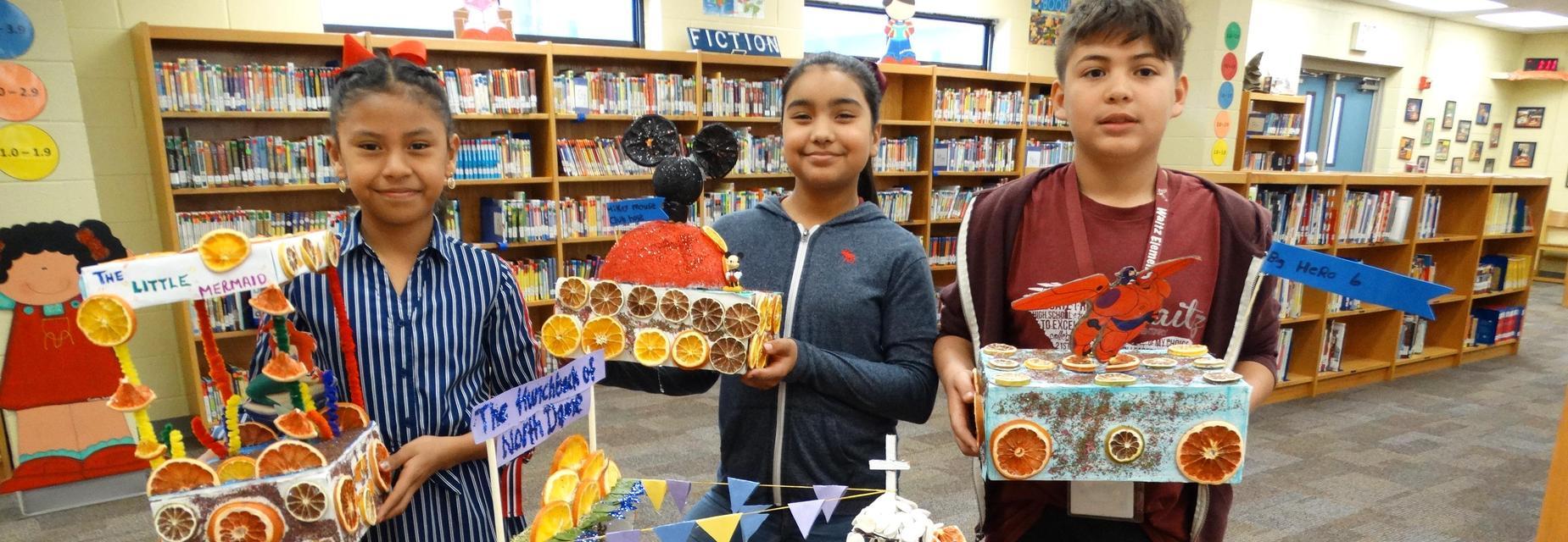 Shoebox Floats for Citrus Parade