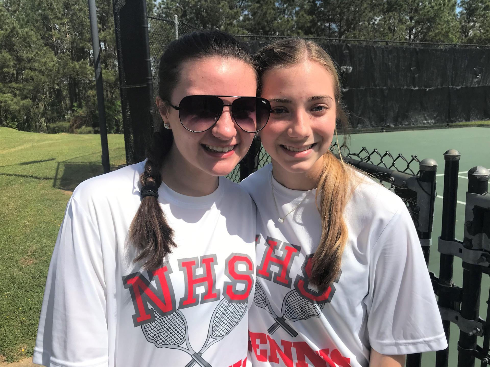 NEHS Girls Tennis