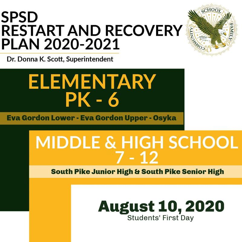 SPSD Reopening