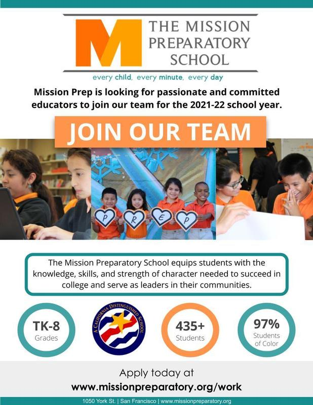 Mission Prep is Hiring