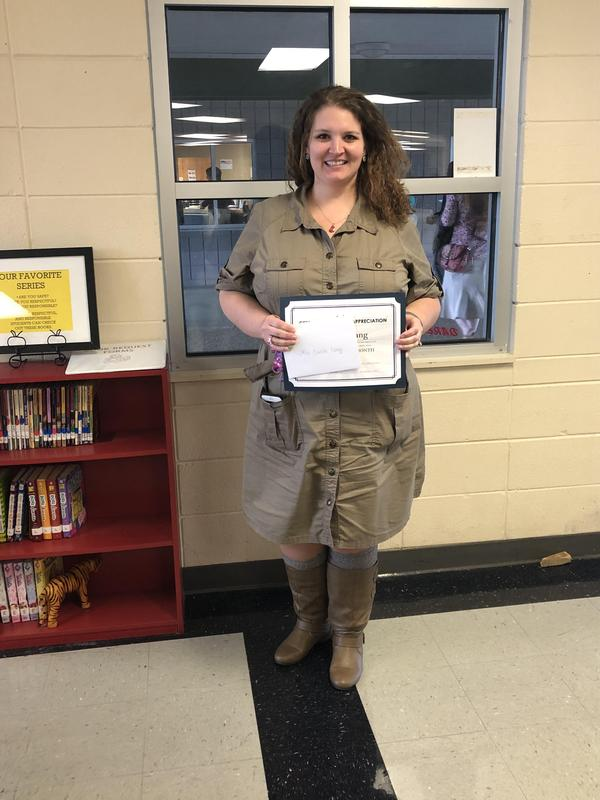 TEACHER OF THE MONTH - OCTOBER Featured Photo