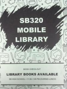 SB 320 Mobile Library & Box Lunches Available at South Beloit High School, Weekdays Featured Photo