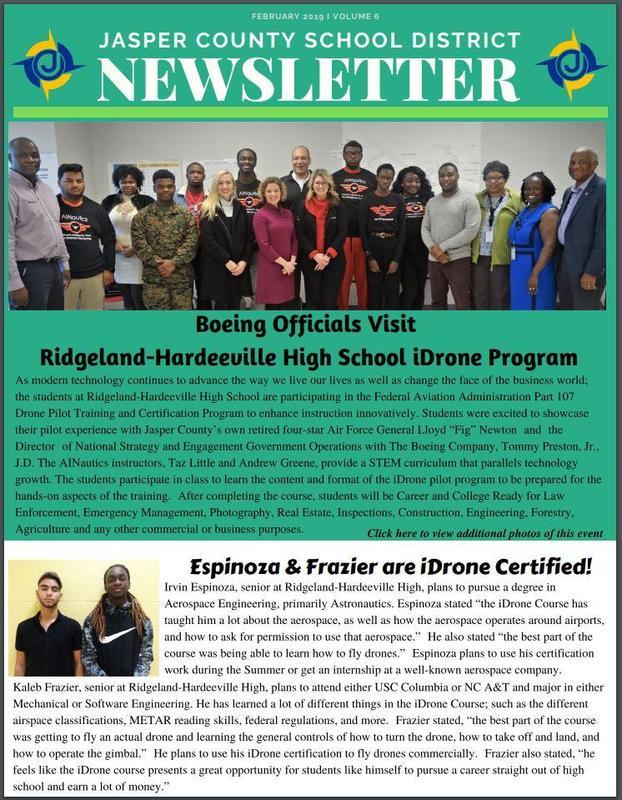 JCSD Newsletter - Volume 6 Featured Photo