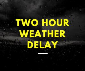 TSD Nashville - 2 hour weather delay 11/12/19
