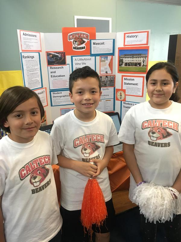 Lynwood Elementary Students Teach Families about College Life Featured Photo