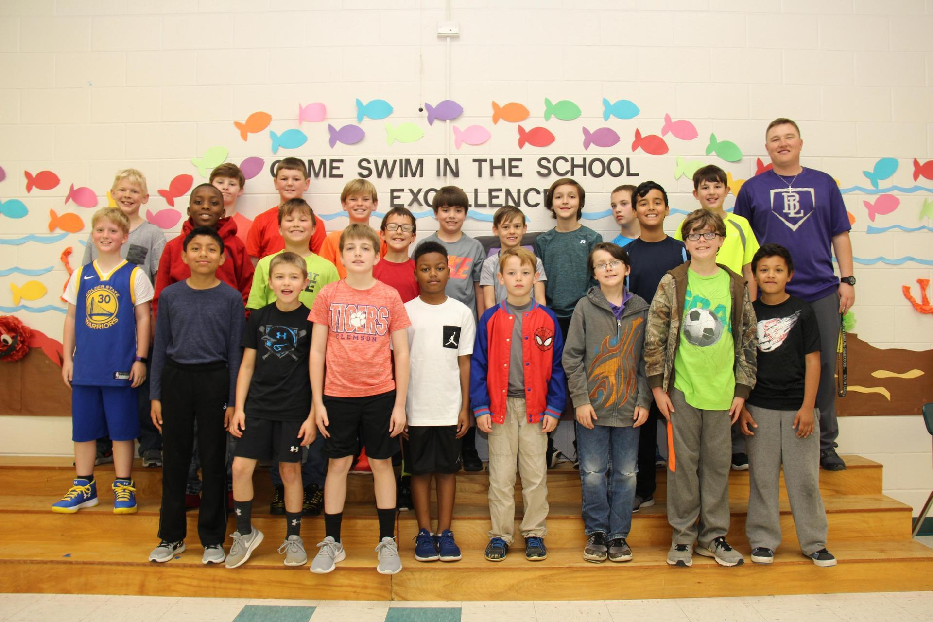Panther Prowl boys running club