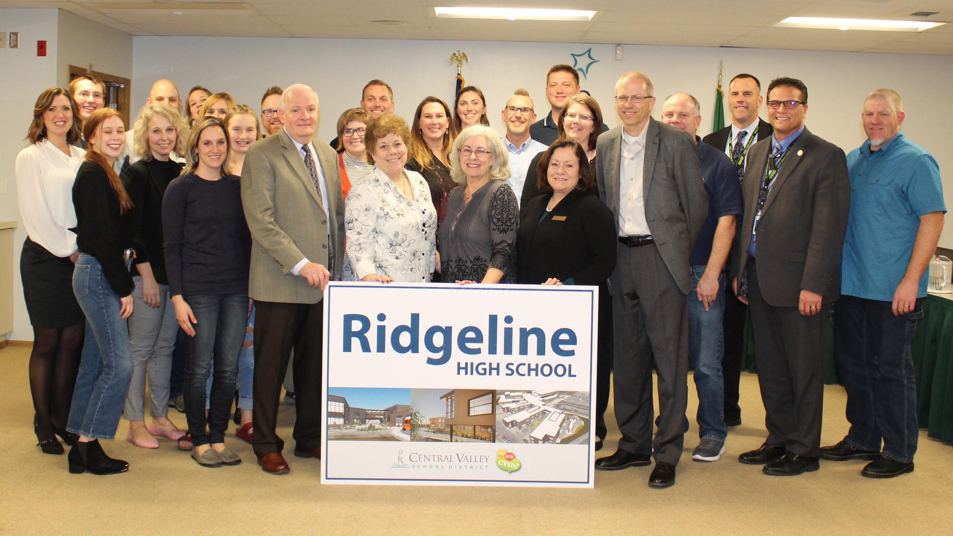 Ridgeline High School Naming Committee, Core Team & School Board