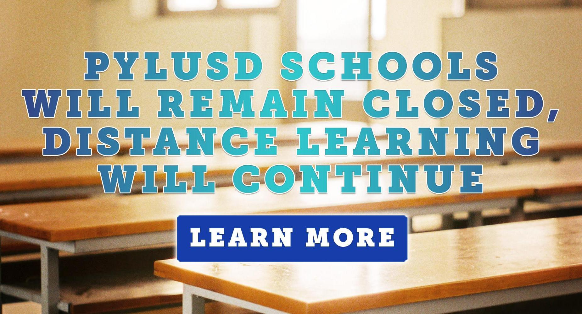 Schools Will Remain Closed, Distance Learning Will Continue