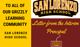 Principal's Message to the Grizzly Community Featured Photo
