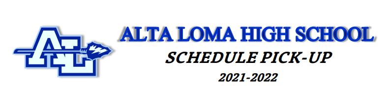 ALHS Schedule Pick-up
