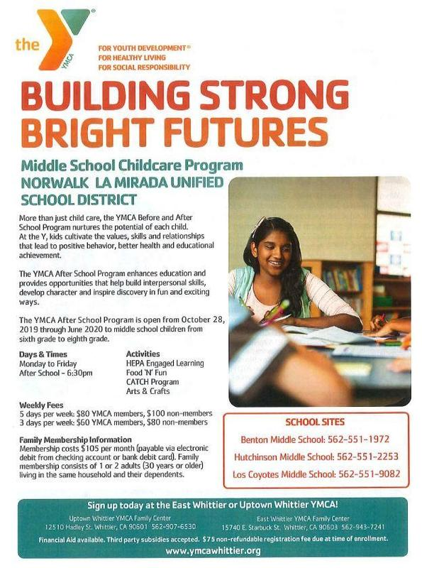 Middle School Childcare Program Featured Photo