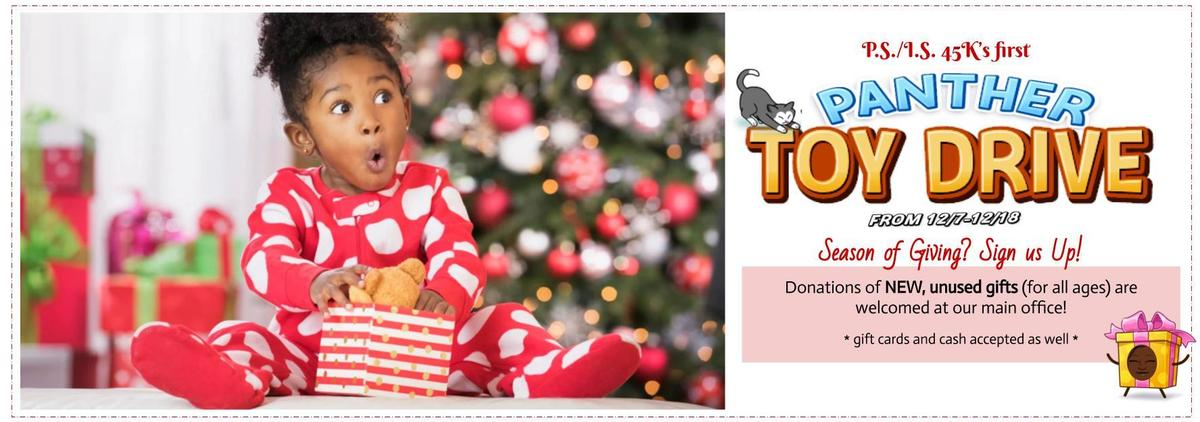 Panther Toy Drive Flyer
