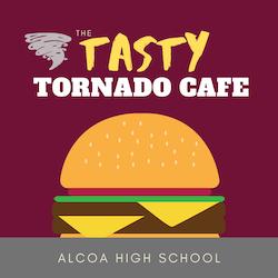 Tasty Tornado Cafe Logo