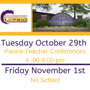 Parent Teacher Conference - No School Reminder.png
