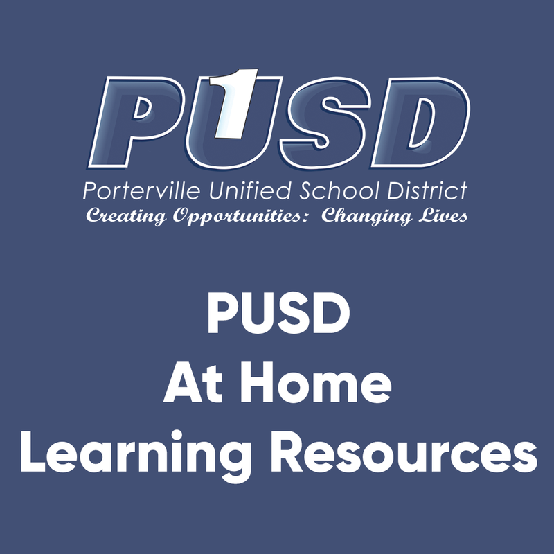 At Home Learning Resources
