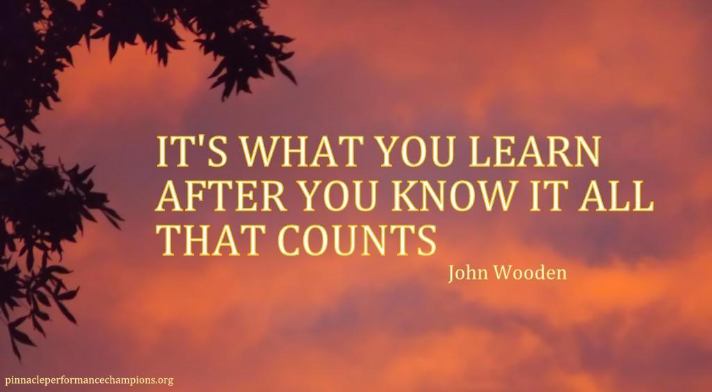 wooden on learning
