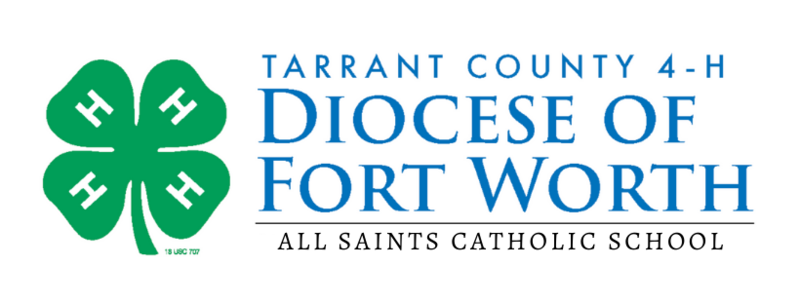 Diocese of Fort Worth 4H Logo