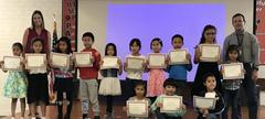 Reclassification Recognition - Congratulations to the students who are now reclassified as Fluent English Proficient!
