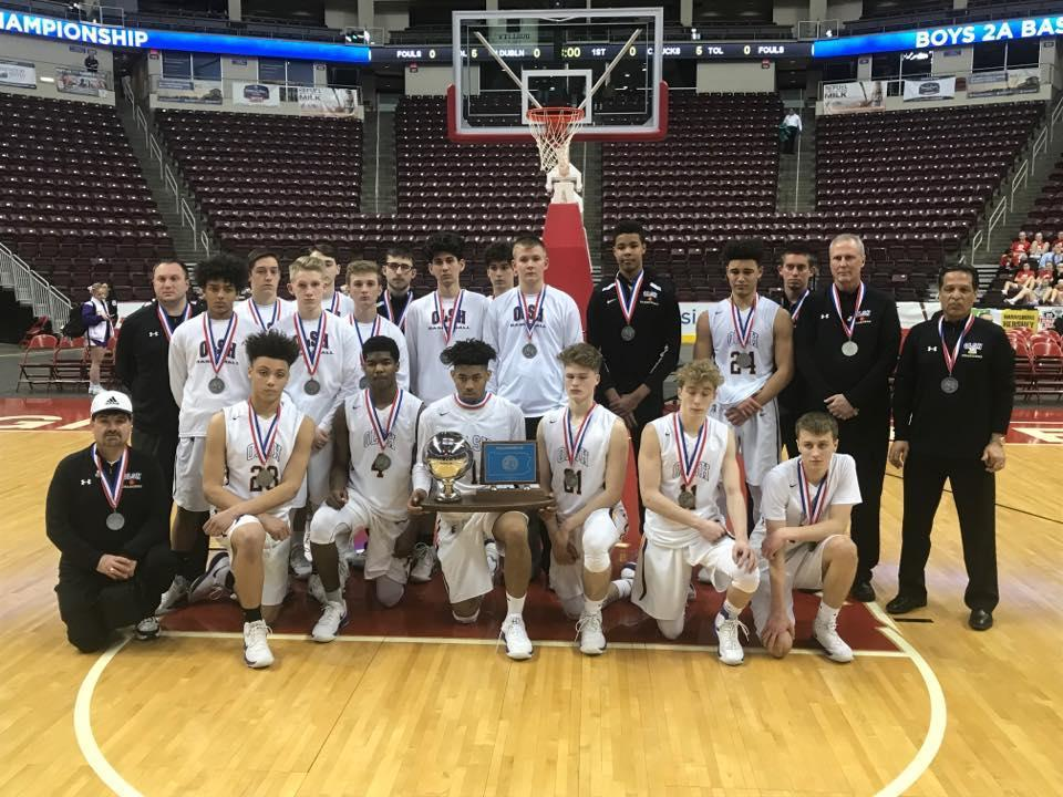 Jake and the boys basketball team were PIAA runners up in 2018.