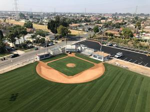 BPUSD's Maintenance and Operations division worked closely with American Little League to update Elwin Elementary School's sports field. The project is near completion.