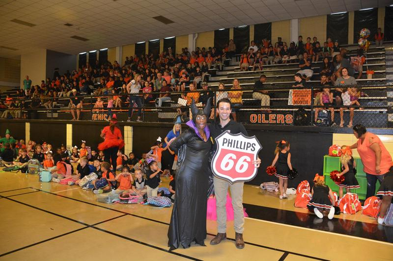 BVES Kicks Off AR with a Reading Based Pep Rally Thumbnail Image
