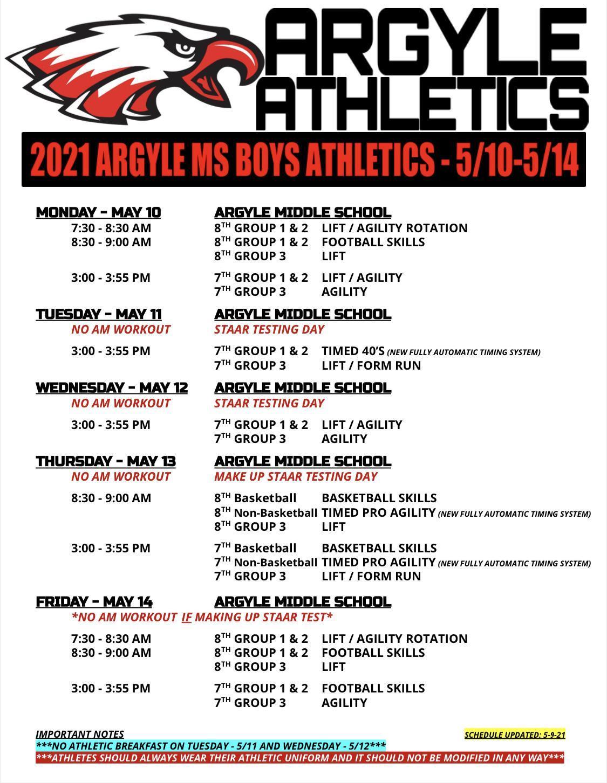 2021 AMS Boys Athletics Schedule - 5-10-5-14